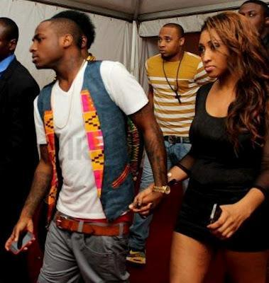 Davido and his girlfriend