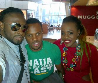 L-R; Uti Nwachukwu, Melvin Oduah and Ada Beverly Osu
