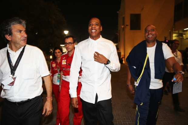 Jay Z found alive outside earlier this month (in Abu Dhabi, naturally) / Photo by Mark Thompson/Get